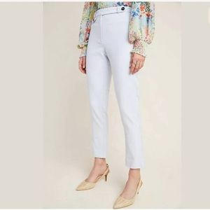 ANTHROPOLOGIE the essential slim Capri pant 10 NWT
